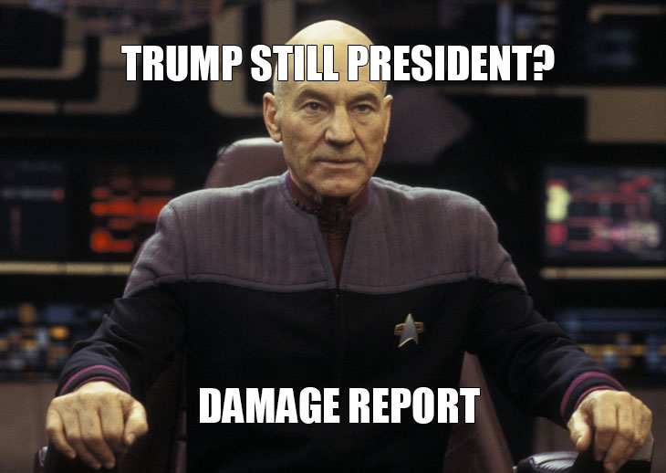 Daily Trump Damage Report 1/30/17