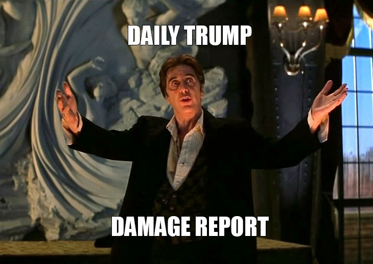 Daily Trump Damage Report 2/3/17