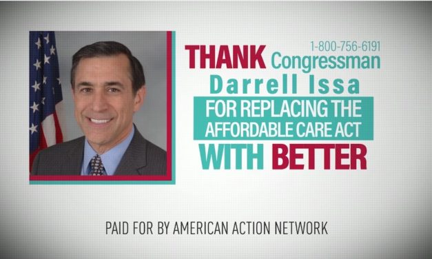Oops: GOP SuperPAC Spends Millions Thanking Congresscritters for Passing Trumpcare